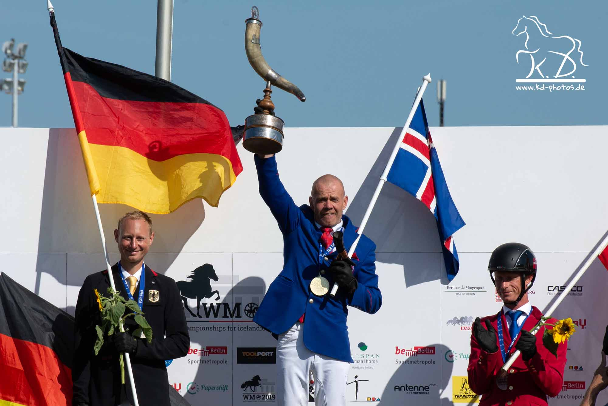 Islandpferde Weltmeisterschaft Berlin 2019 Johann Skulason